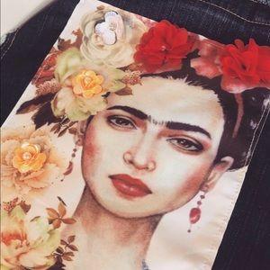 Handbags - Frida kahlo handmade purse